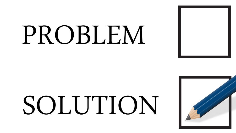 what does a solution look like
