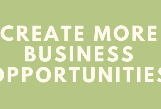 Create More Business Opportunities