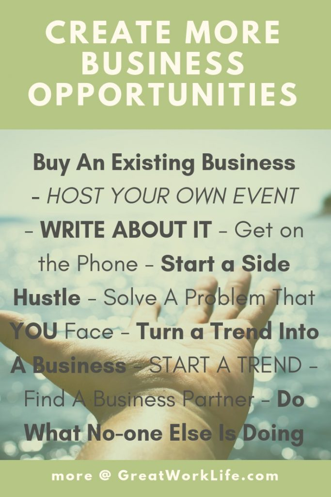 Create More Business Opportunities - Infographic
