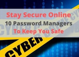 Top 10 Best Password Managers Review & Test