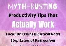Productivity Tips/Hacks That REALLY Work