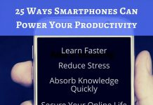 Ways to Use Your Smartphone Productively - Infographic