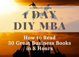 DIY MBA - How To Read 30 Great Business Books in 8 Hours