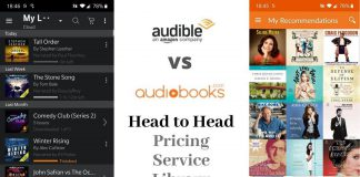 Audible vs Audiobooks