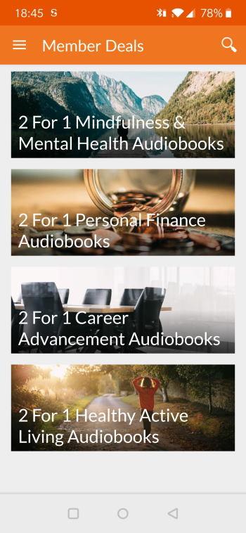 Audiobooks.com Always has A Special 2 for 1 Deal