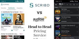 Scribd vs Audible