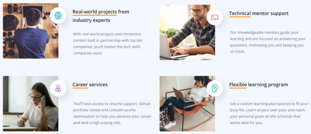 Udacity Online Learning Program Support